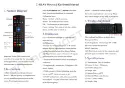 mx3 fly air mouse