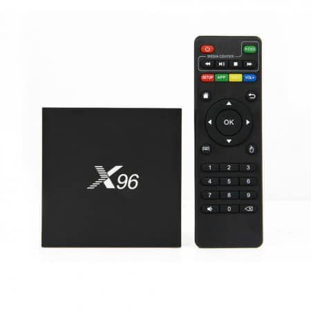 Android X96 4k android tv box met marshmallow 6.0