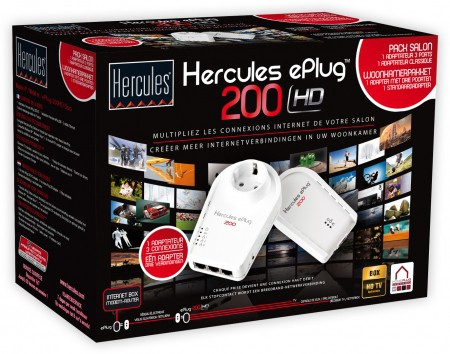 Hercules Homeplug 200 HD duo