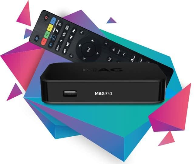 MAG 349 / 350 W3 Premium IPTV Set-Top box
