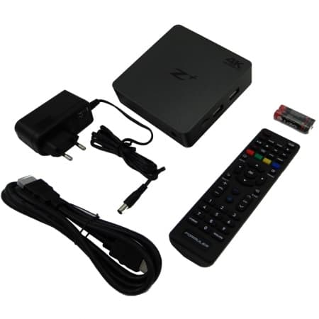 Formuler Z+ 4K IPTV Set top box