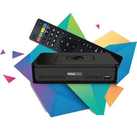 Mag 352 IPTV Set-Top Box