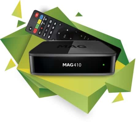 Mag 410 IPTV Set Top Box