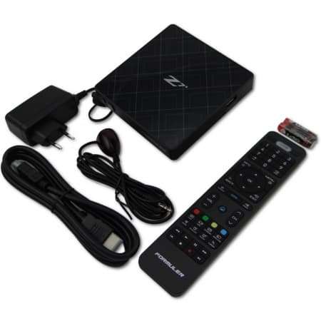 Formuler Z7+ zwart IPTV set top box