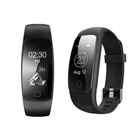 Fitness Tracker ID107 zwart Androidkastje