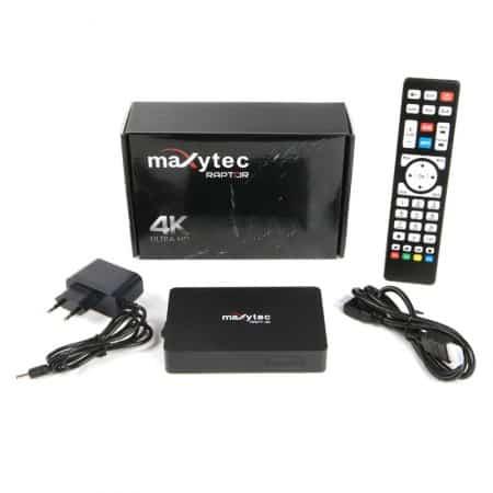 Maxytec Raptor 4K IPTV Box