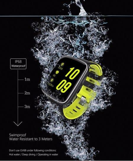 waterdichte GV68 smartwatch