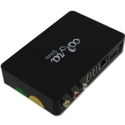 Cobra Slim IPTV Box aansluitingen