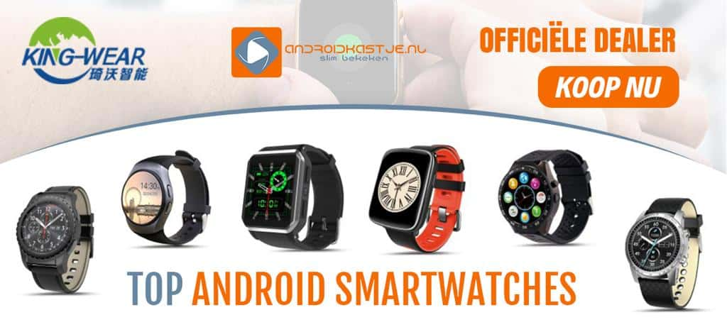 Kingwear android smartwatches