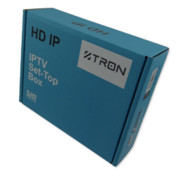 Z Tron H.265 HD+ HEVC IPTV voorkant