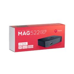 Mag 522w1 iptv box